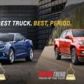 เชพโลเล็ต โคโลราโด เวอร์ชั่นอเมริกา คว้ารางวัลรถกระบะยอดเยี่ยมจาก Motor Trend