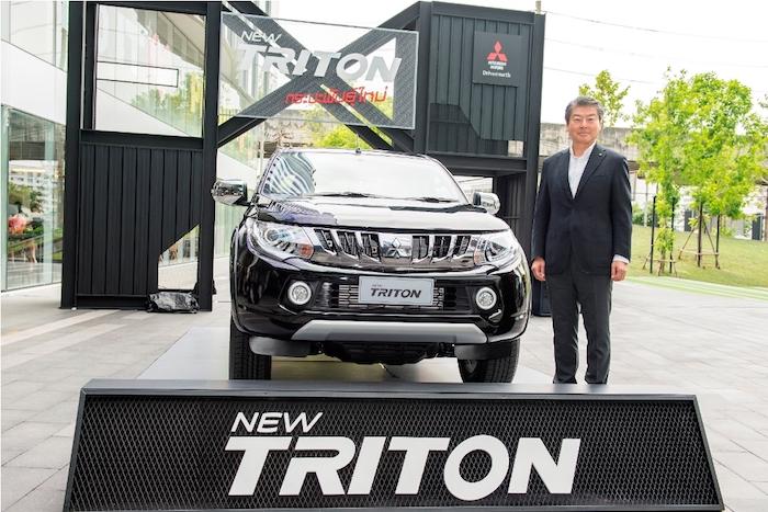 รถกระบะ Mitsubishi Triton 2017 โฉมใหม่มาดเข้มมาพร้อมเครื่องยนต์สุดประหยัด